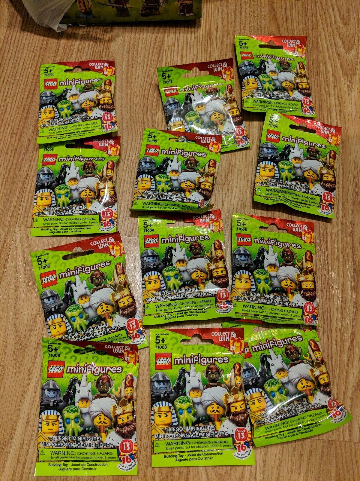LEGO Minifigures Série 13 Lot de 12 Random Blind Sacs Scellé