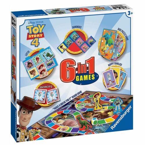 Spiele Box6 in 1Toy Story 4RavensburgerSpielesammlung