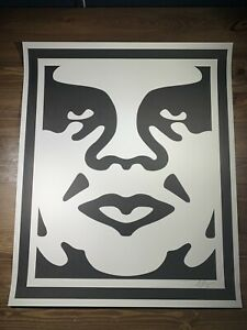 Shepard Fairey Obey Classic Icon Art Print Poster Signed 25X30 Andre The Giant