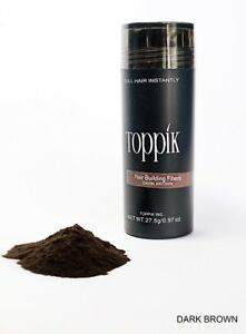 DARK-BROWN-TOPPIK-Hair-Loss-Building-Fiber-27-5g-FREE-AND-FAST-SHIPPING-IN-USA