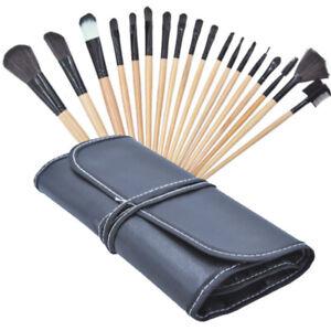 18pcs Set Pro Makeup Brushes Kit Powder Foundation Eyeshadow Eyeliner Lip Brush