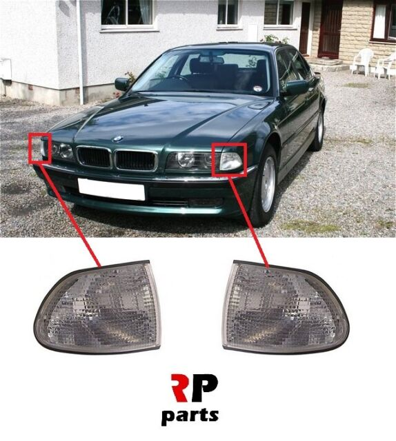 CRYSTAL SMOKED INDICATORS FOR THE BMW E38 7 SERIES 6//94-8//98 728 730 735 740