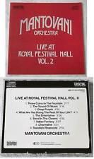 MANTOVANI Live At Royal Festival Hall Volume 2 .. 1985 Bellaphon CD TOP