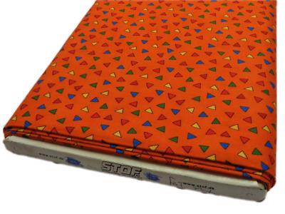 FQ Hedgehugs fabric light green spot dot cotton craft red blue yellow quilt