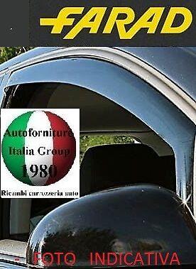 DEFLETTORI ANTIVENTO ANTITURBO FARAD 2PZ MITSUBISHI L200 98/>05 2P 1998/>2005