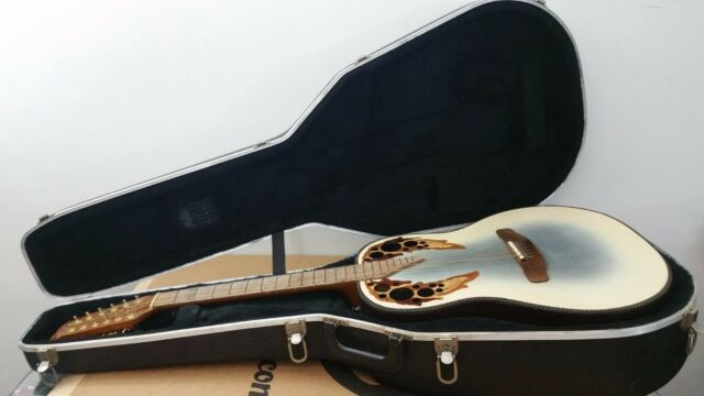 Adamas 1685-7 Ovation12-String Acoustic/Electric Guitar.
