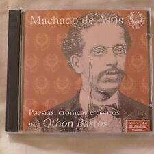 Import CD Machado de Assis por Othon Bastos - vol 2 - poesias, crônicas e contos