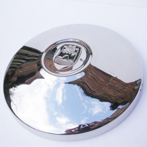 HUB CAPS WOLFSBURG LOGO stainless x 4 for VW Beetle Baywindow Ghia Type 3 AAC150