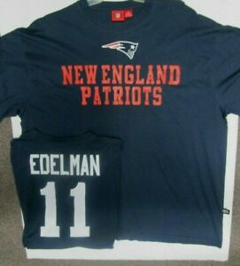 Details about JULIAN EDELMAN PATRIOTS MENS TEAM NFL JERSEY SHIRT SIZE 2X