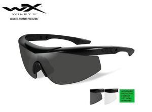 New-Wiley-X-Talon-Apel-Grey-Clear-Matte-Black-Frame-Sunglasses-CHTAL1