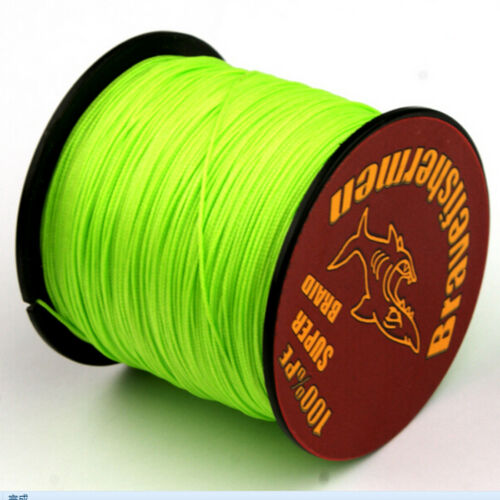 PE Braid 4//8 Strands Fishing Line Green 100-1000M 6-300LB Fishing Tool
