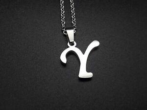 De 1 A 15 Colgante Acero Inoxidable LETRAS personalizado collar colgantes letra
