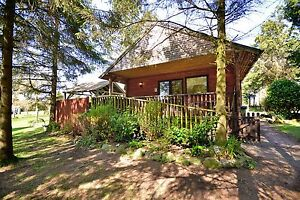 2-Night-WINTER-Weekend-in-Log-Cabin-with-Hot-Tub-at-Rocklands-Lodges