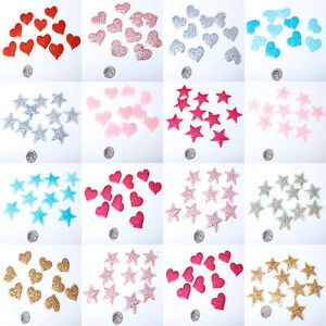 10-x-Large-38mm-Glitter-Resin-Shape-Heart-Star-Glitter-Embellishment-Sparkle-Gem