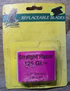 Satellite Broadhead Replacement Blades Vintage NIP USA