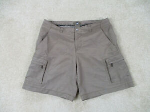 REI-Shorts-Womens-8-Brown-Outdoors-Cargo-Khaki-Casual-Hiker-Hiking-Ladies