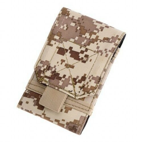 Hunting Bags Tactical Molle Waist Phone Belt Pouch 5.5 Inch Hook Loop Cover