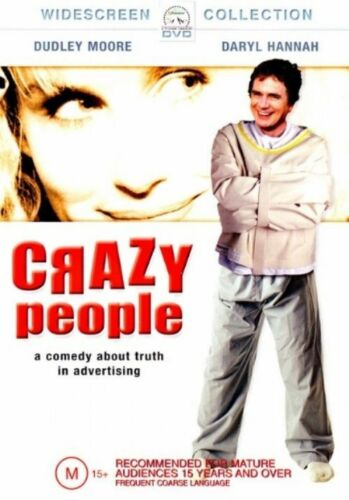 1 of 1 - Crazy People (DVD, 2004) comedy R4