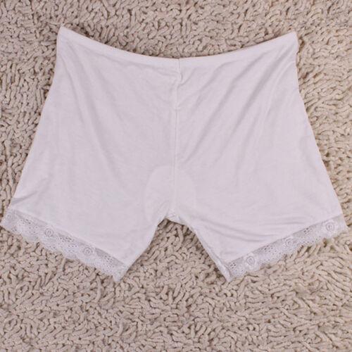 Women/'s Dancing Sport Short Tights Elastic Lace Edge Pants Safety Underwear
