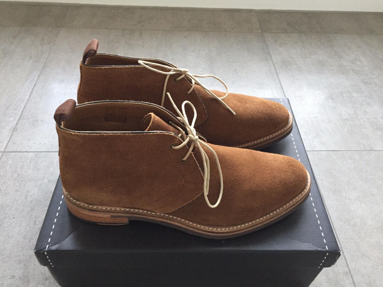 Gordon & Bros Schuhe DANILO braun NEU Herrenstiefelette Leder 623027 tabacco NEU braun 43 5697b6