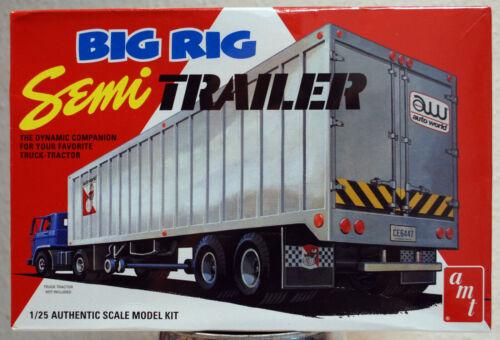 Big Rig Semi Trailer 1:25 AMT 1164 wieder neu 2019