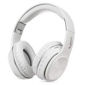 Casque  bluetooth radio MP3 SD sans fil V5.0 + EDR Audiocore blanc