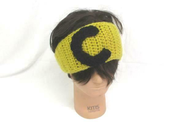 Lot of Women Accessories Yellow Cougars Head Warmer Ear Muff Wrap & Gloves