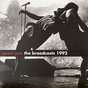 Pearl-Jam-The-Broadcast-1992-Gb-2012-Edition-Limitee-2-lp-Vinyle-Scelle