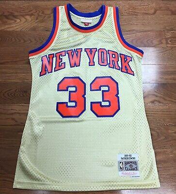 Mitchell /& Ness NY Knicks Patrick Ewing Camiseta sin mangas