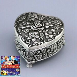 HIGH QUALITY Vintage Design Tin Alloy Music Box ♫  ONCE UPON A DECEMBER   ♫