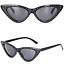 OCCHIALI-DA-SOLE-Vintage-Retro-GATTO-Cat-Eyewear-DONNA-SPECCHIO-Modello-2019 miniatura 8
