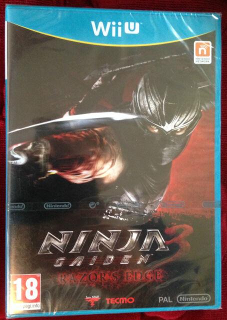 NINJA GAIDEN 3 RAZOR'S EDGE jeu console Nintendo Wii U WIIU PAL ++ 100% NEUF ++