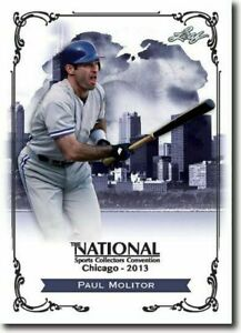 PAUL-MOLITOR-2013-LEAF-NATIONAL-EXCLUSIVE-COLLECTORS-PROMO-CARD