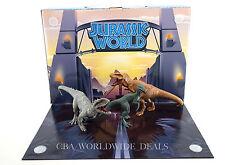 NEW Universal Studios Park Jurassic World Indominus T Rex 3 Figures Playset