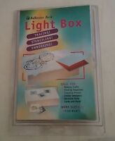 Adhesive Tech Light Box Tracing Stenciling Embossing