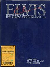 Elvis Presley - The Great Performances (3DVD) Import *SEALED* $2.99Ship
