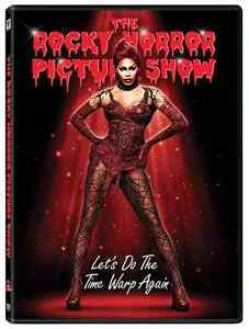 Rocky-Horror-Picture-Show-DVD-2016-NEW-FOX-TV-Do-the-Time-Warp-Again