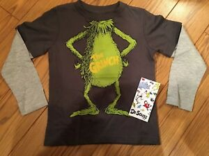 Dr Seuss How The Grinch Stole Christmas New 3t Toddler Boys T Shirt