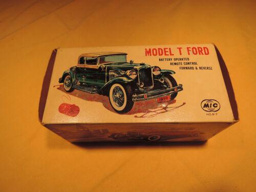 A MIC Model T Ford Made in Hongkong neu und original verpackt