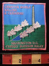 Cherry Blossom Rally Patch WASHINGTON DC USA Washington Monument C71K