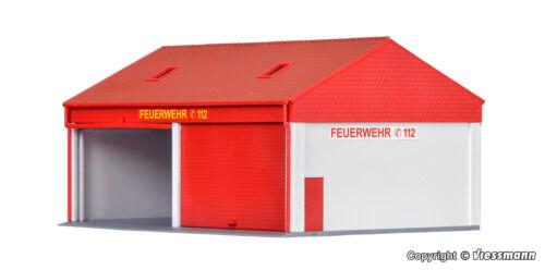 Kibri h0 38542-pequeñas bomberos garage kit Artículo nuevo