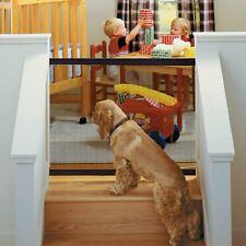 186*76cm Magic-gate Portable Safety Guard Mesh Magic Net for Puppy Pets Dog Cat