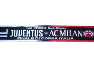 Sciarpa-Juventus-Milan-4-0-Finale-Coppa-Italia-9-maggio-Ufficiale-Originale-Roma