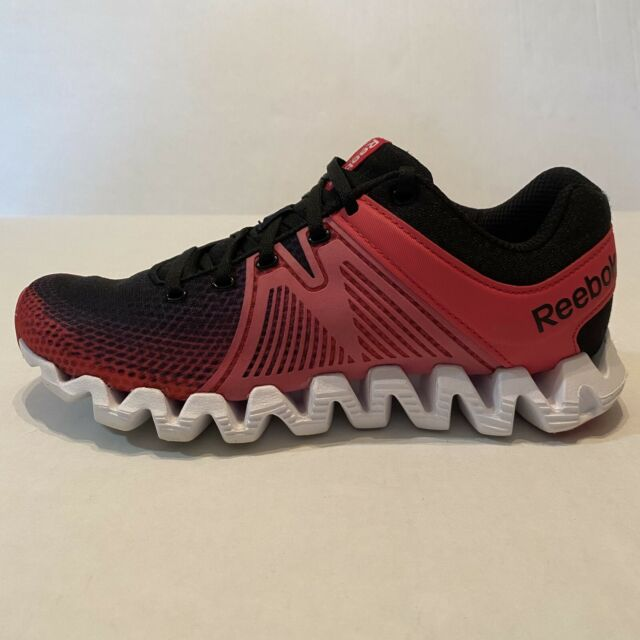 Reebok Zigtech Womens Running Pink Black Athletic Sneakers Shoes Size 7.5- NICE!