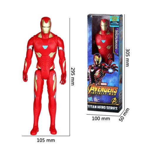 12 Inch Superhero Avengers EndGame Figure Toy Home Room Decor Best Gift US Stock
