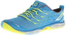 MERRELL Womens Road Glove Dash 3 Hiking Trail Shoes Size 6.5 M, H. Blue/High Viz