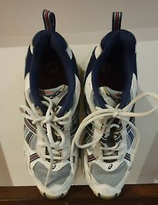 Details about ASICS GEL LEATHER RUNNERS /SNEAKERS -WHITE - SIZE 10 RRP $150  PRELOVED (VINTAGE)