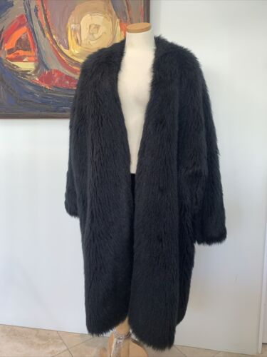 Stephen SPROUSE 1984 Faux Fur Monkey Coat RARE ico