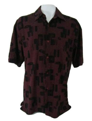 Vintage Cream de Silk Short Sleeve Shirt Silk Blen