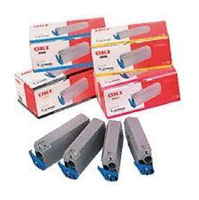 4 x Original Toner OKI C7100 C7300 C7350 C7500 / 41963008 41963007 - 41963005